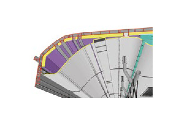 Improved insulation efficiency and reduced A/C load