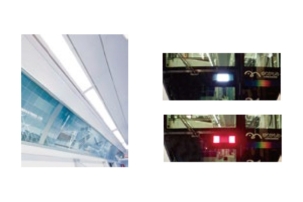 On-board LED lighting and signage