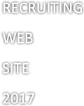RECRUITING WEB SITE 2017