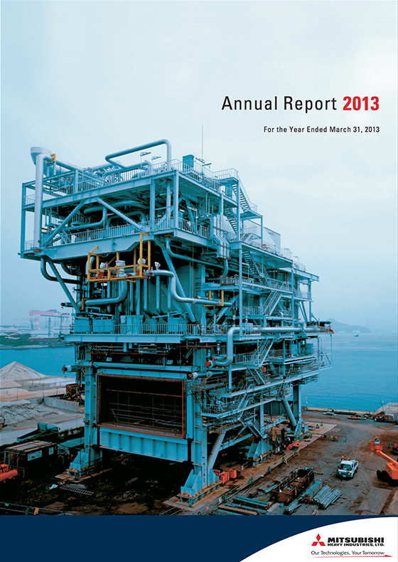 Image:Annual Report 2013 (for the year ended March 31, 2013)