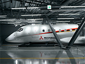 Full scale MRJ mock-up