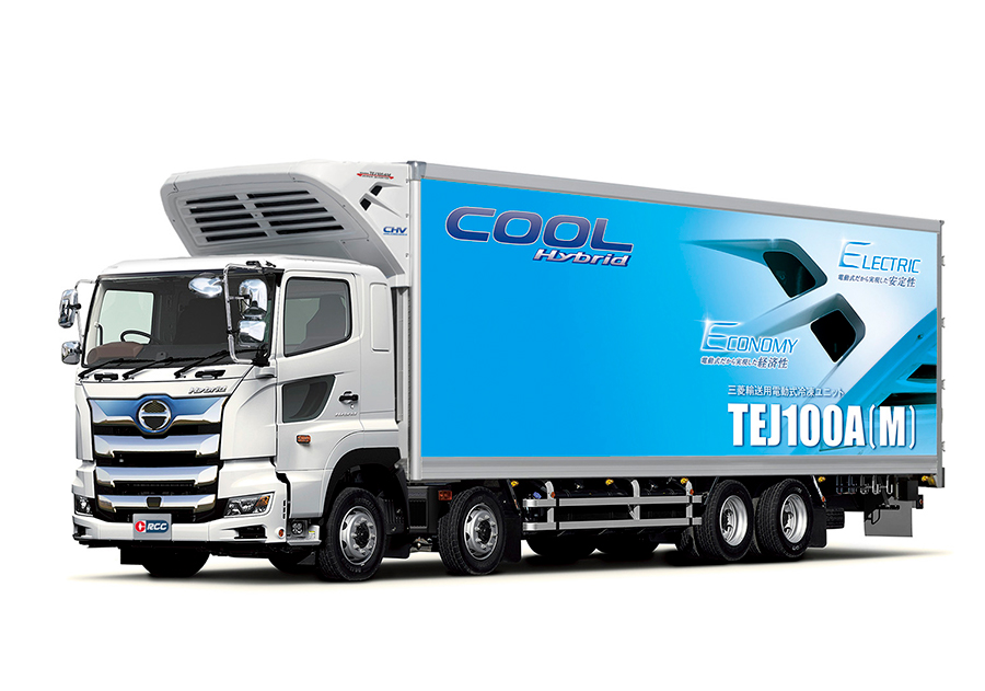 All-electric Refrigeration units for Hino Motors