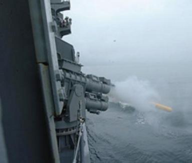 三菱重工   水中・艦載機器 : 自走式デコイおよび発射装置